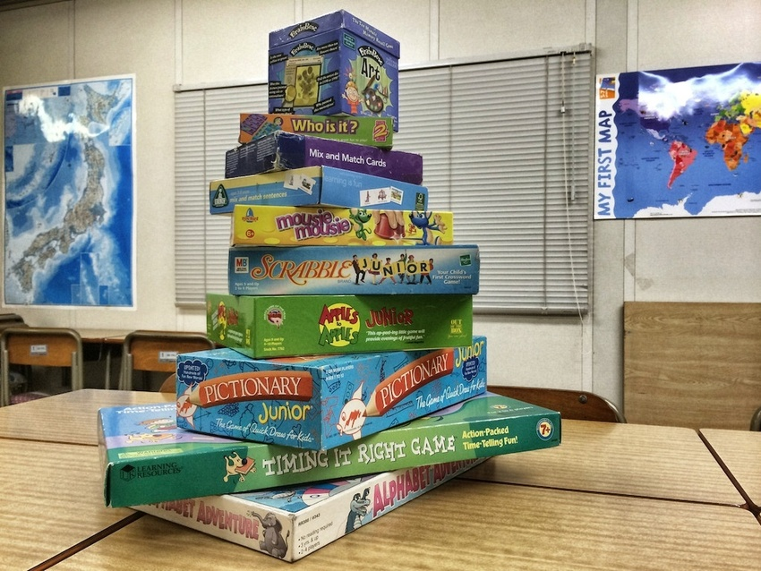 Games used in an EFL classroom