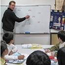 Hirasu classroom-teaching elementary school children phonics